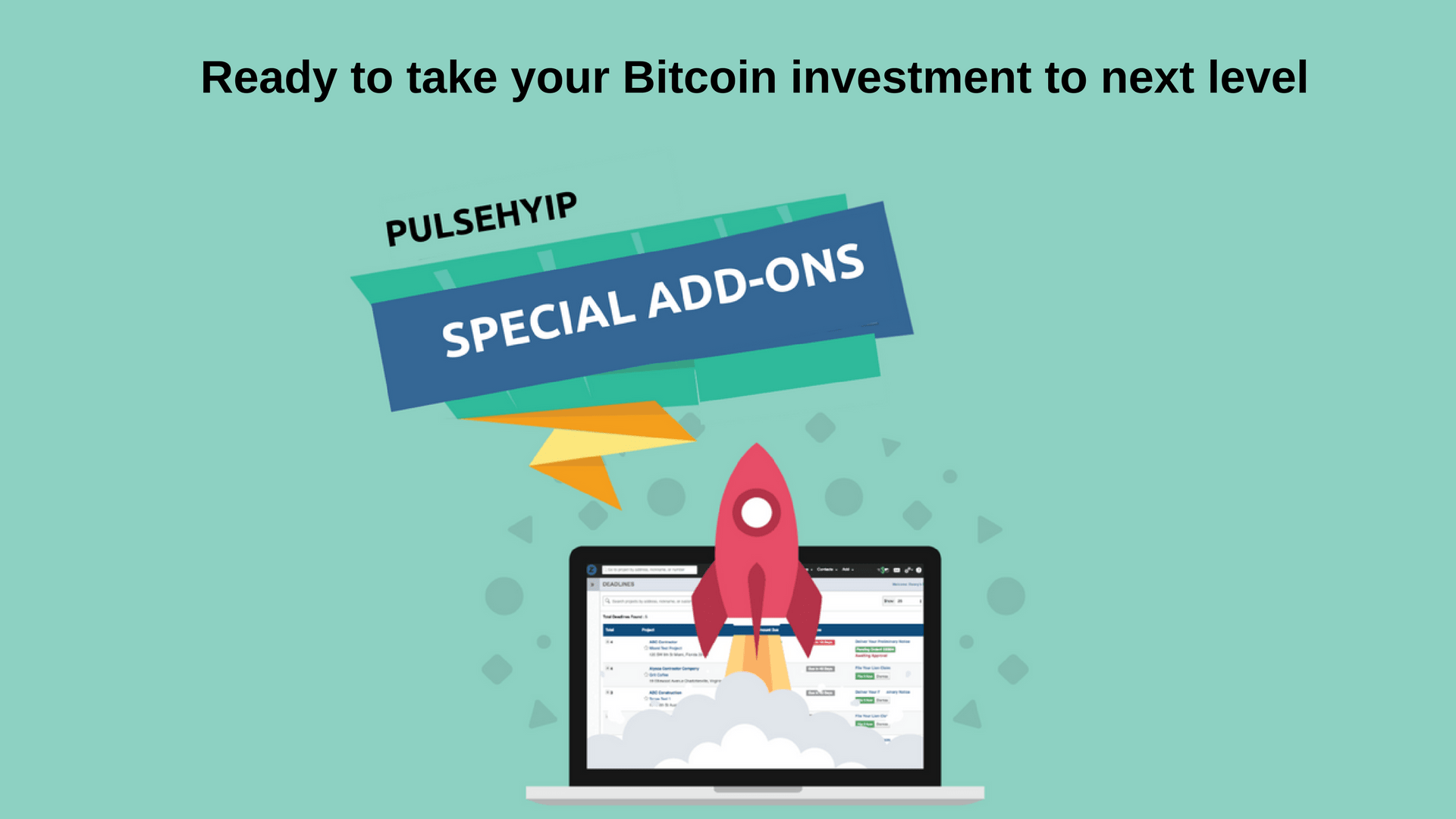 Finding a software with special add-ons to start bitcoin investment business