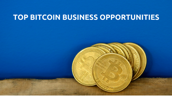 What are the four greatest business opportunities in bitcoin ?