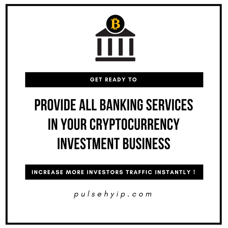Can we make the cryptocurrency investment business as a cryptocurrency banking platform ?