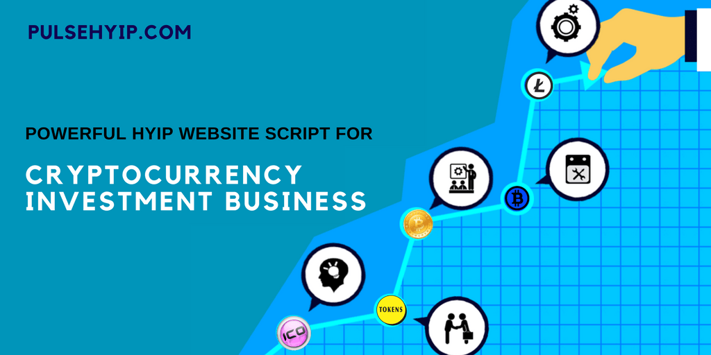 Pulsehyip release the Powerful HYIP website script for cryptocurrency investment business