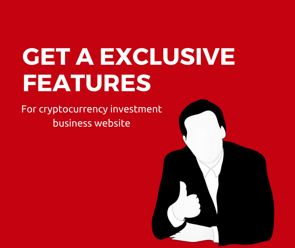 How to integrate the latest features in your cryptocurrency investment business website ?